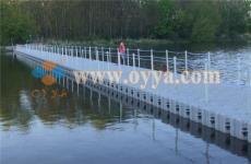 供應組合式浮動碼頭 水上舞臺 水上游泳池