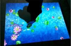 地面互動投影游戲