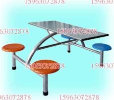 六人快餐桌椅 學生餐桌椅 不銹鋼餐桌價格