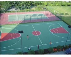 山东篮球场施工