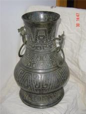 青铜器周齐侯罍 无锡工艺品青铜器厂家