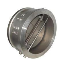 H76W-16P/R不锈钢对夹蝶式止回阀