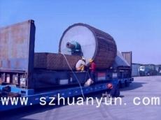 框架柜綁扎照片 深圳專業框架柜綁扎加固