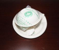 淀粉餐具擺上餐桌低碳環保有望普及