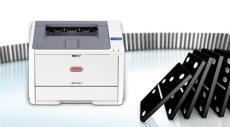 挽聯打印機 黑白激光挽聯打印機 OKIB411