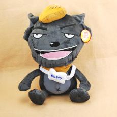 卡通毛絨玩偶灰太狼生產商 可來樣訂做