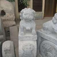 曲陽石雕廠 批發石雕獅子