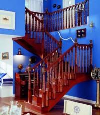 徐州楼梯 全木楼梯 优质实木楼梯