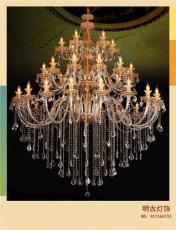 新款水晶蜡烛灯 酒店水晶蜡烛灯