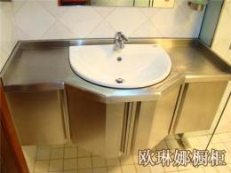 不锈钢浴室柜 不锈钢台面 上海不锈钢柜子