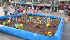 国庆节促销优惠买充气沙池送玩具多买多送