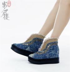 2012年秋款女鞋批发之都 步履玲珑