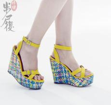 民族风时尚女鞋批发 首选步履玲珑
