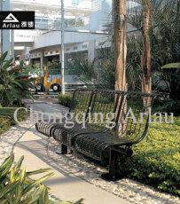 小区户外钢筋休闲座椅-休闲椅-四川休闲椅