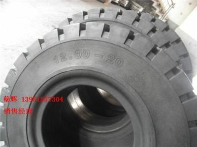 厂家供应实心轮胎12.00-20