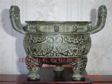 佛教工艺品-寺庙佛教用铜香炉-宗教用品