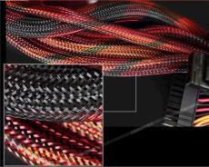涤纶彩色编织网管