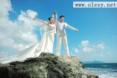 三亞海景婚紗攝影