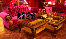 ktv家具 發光茶幾 歐式沙發 吧桌吧凳