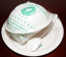 你見過玉米淀粉做成盤子和碗嗎