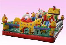 河南充氣玩具 大型夢幻白雪充氣城堡新款