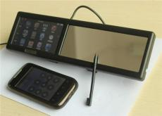 4.3寸超薄后視鏡GPS導航儀