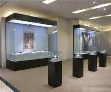 海南护肤品陈列柜海口香水展示柜制作琼海珠