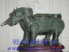 上海博物馆仿古青铜器牺尊/上海铜工艺品