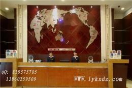 背景墙装饰效果图-新款世界地图钟