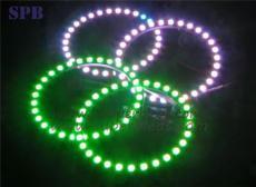 LED天使眼 汽车LED天使眼5050 131mm27smd