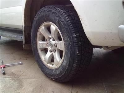 兰德酷路泽原车配套轮胎邓禄普轮胎AT22