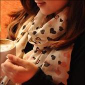 仿羊絨圍巾
