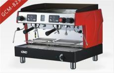 供應GINO吉諾商用雙頭電控半自動咖啡機