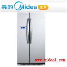 美的對開門冰箱BCD-550WKM