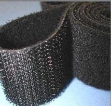 背膠黑色粘扣帶 背膠黑色粘扣帶