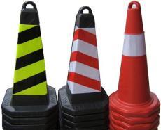 雪糕桶 安全锥 塑胶橡胶路锥-冠定达公司