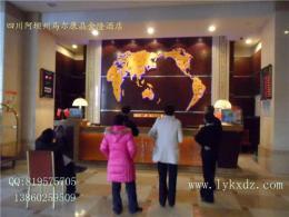 星级酒店办公用品-酒店地图钟