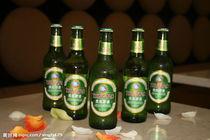供应青岛啤酒正品/绿啤瓶装500ml12瓶