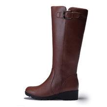 新款兔毛女短靴真皮及裸靴中靴子
