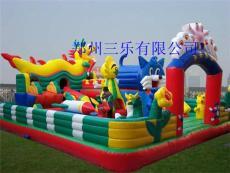 儿童气垫床 天天乐园充气城堡现货