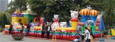 山西儿童充气城堡价格 喜洋洋娱乐气包床